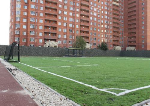 Новое футбольное поле